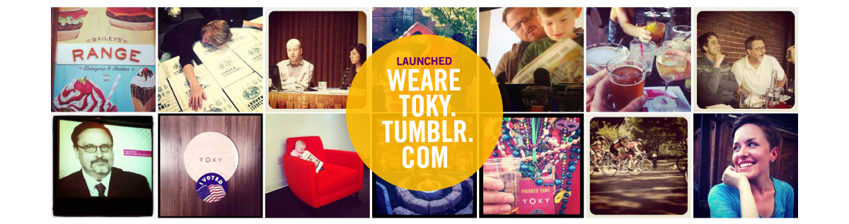 Launched wearetoky.tumblr.com