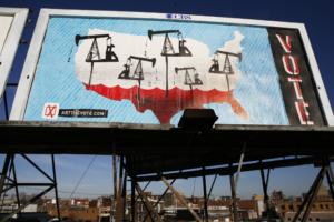 Art the Vote Billboard