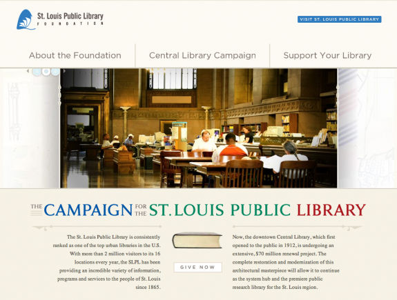 Library Foundation site