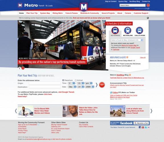 Metro_website