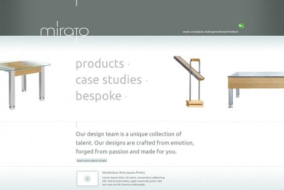 Mirato homepage
