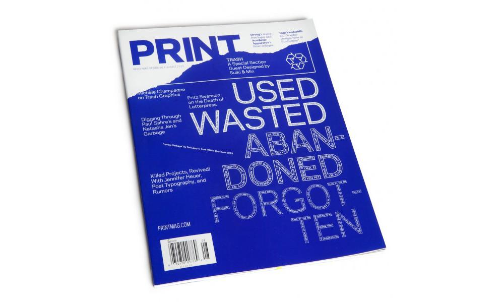 PRINT Mag picks through TOKY's trash