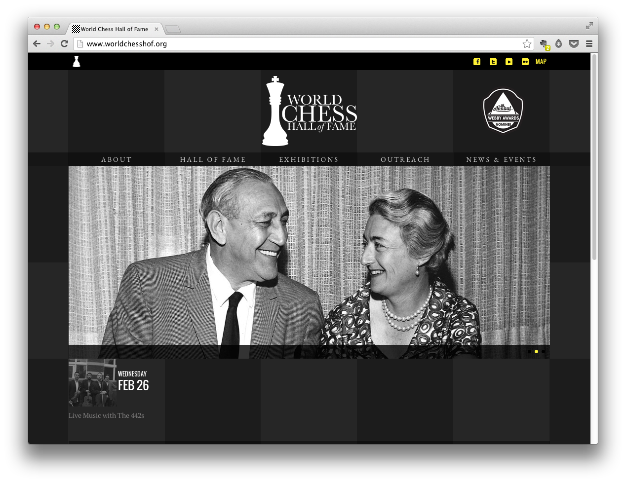 World Chess Hall of Fame Website