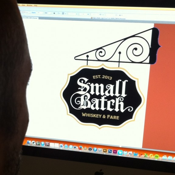 Small Batch Signage