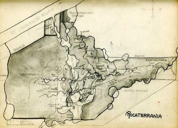 Rocaterrania Map