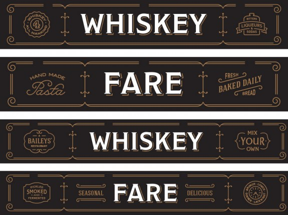 Whiskey-Fare-Signs