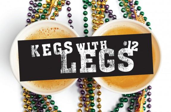 Kegs with Legs STL