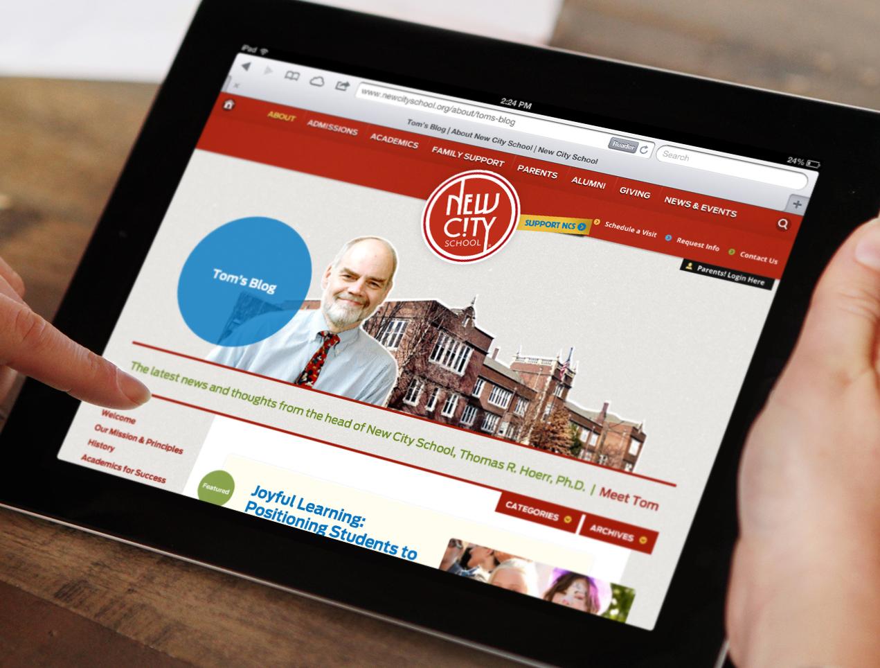 New City School Responsive Website by TOKY