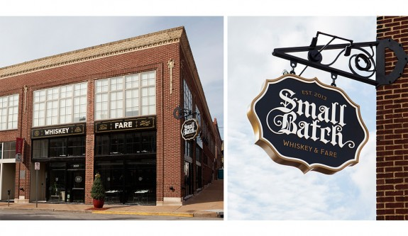 Small Batch Exterior Signage by TOKY