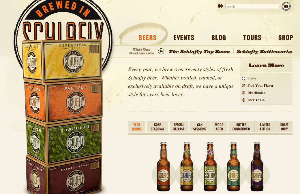 Schlafly Website
