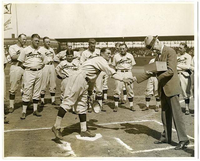 1931 World Series Ernie Orsatti Cardinals