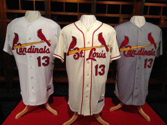2013 Cardinals jerseys