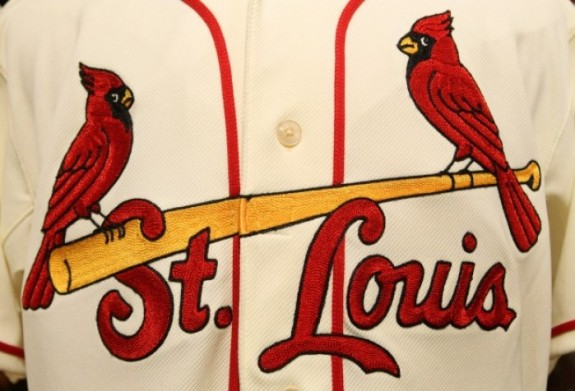 2013 Cardinals alt uniform detail