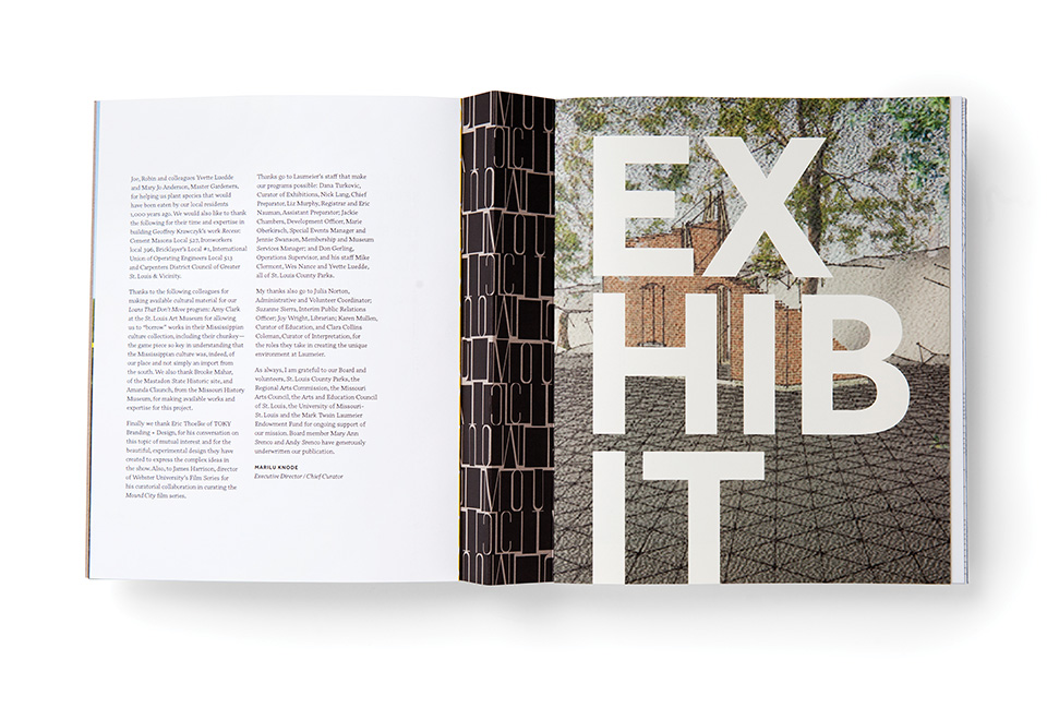 Mound City Exhibit Catalogue by TOKY