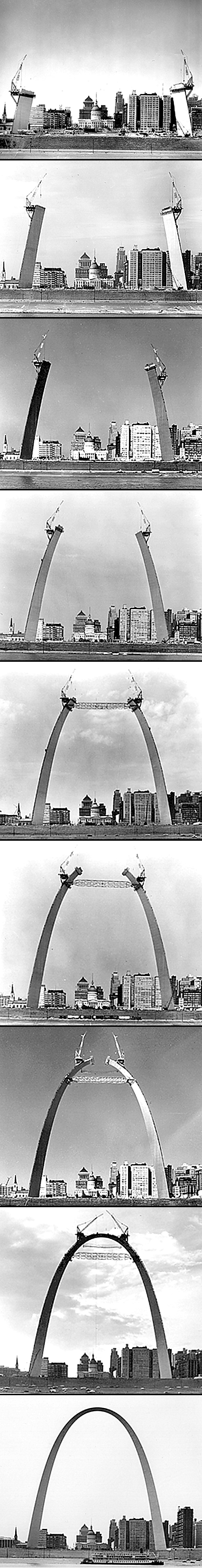 Gateway Arch St. Louis building