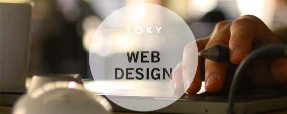 TOKY web design