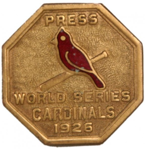 Press button Cardinals 1926