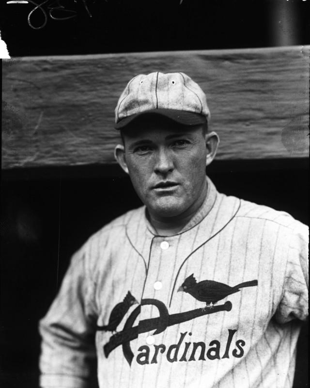 Rogers Hornsby 1920s Cardinals uniform