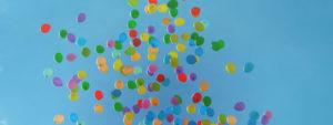 Ballons launching