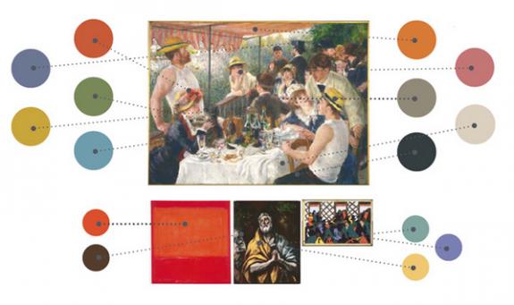 Phillips Collection Color Pallette