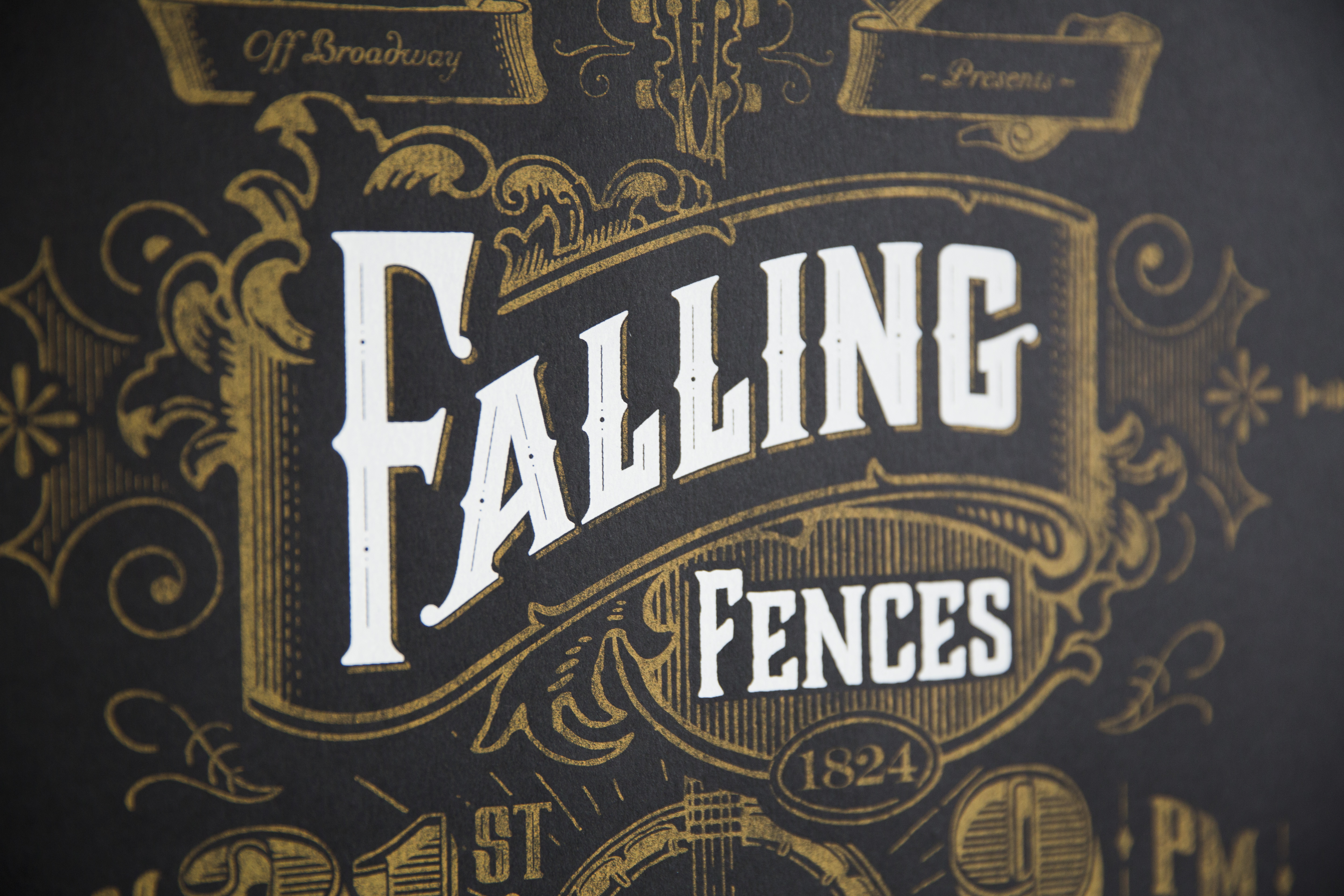 Falling Fences detail