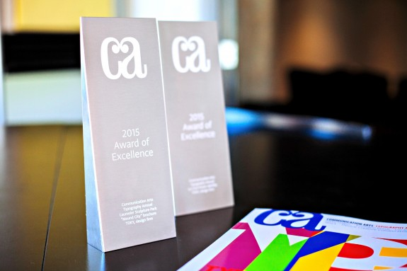 double feature: two awards in CA Typography Annual 2015