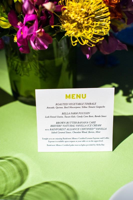 RA table card