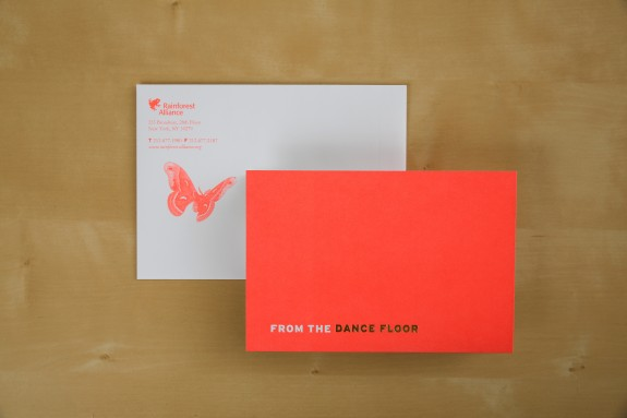 RA invite outside and envelope
