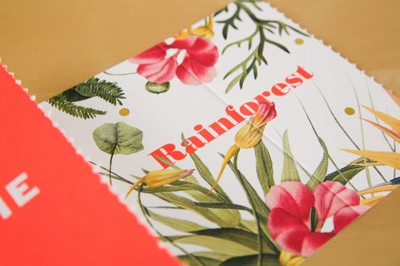 Rainforest Alliance Save the Date Closeup