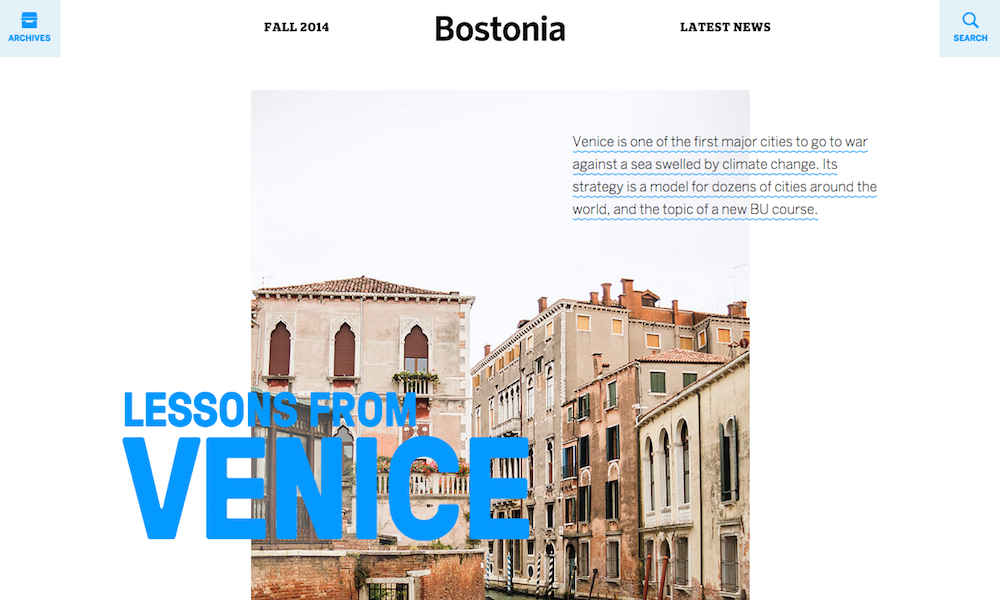 Bostonia Magazine