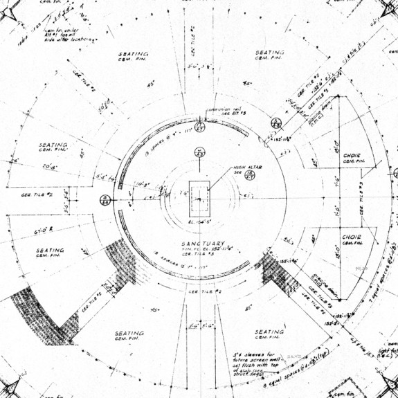 Priory chapel floor plan