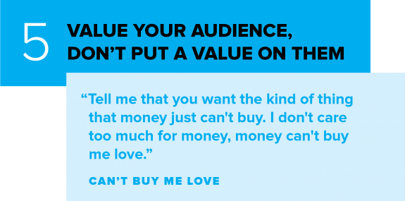 Value Your Social Media Audience