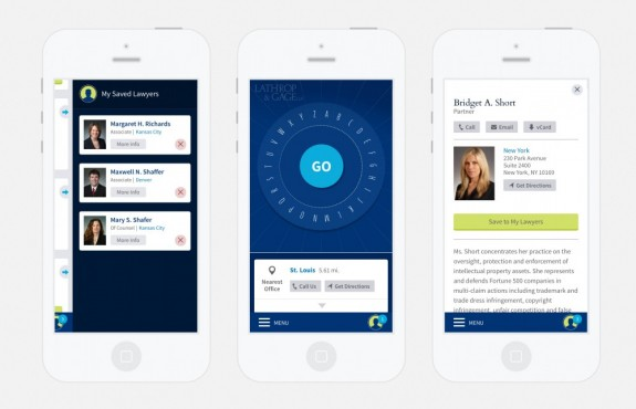 Law Firm Mobile App