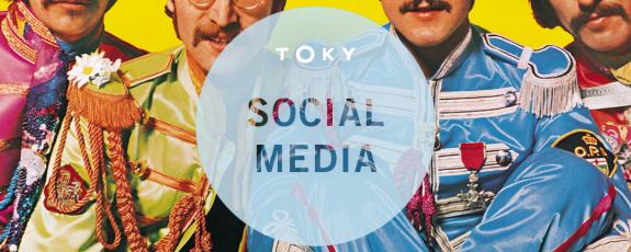 Beatles Social Media