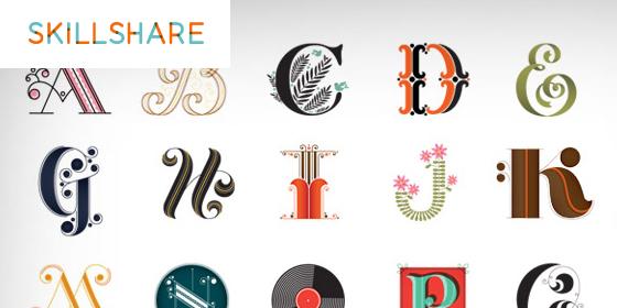 skillshare lettering