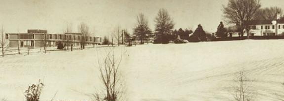 Historic Priory monastery, 1961