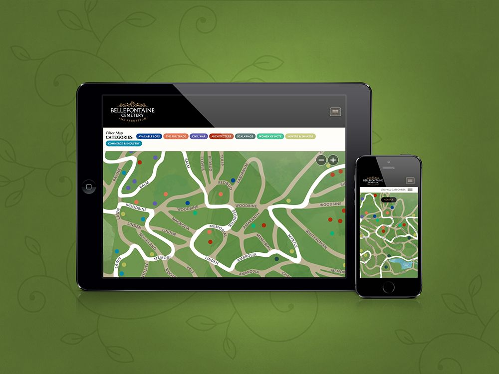 Mobile Interactive Map