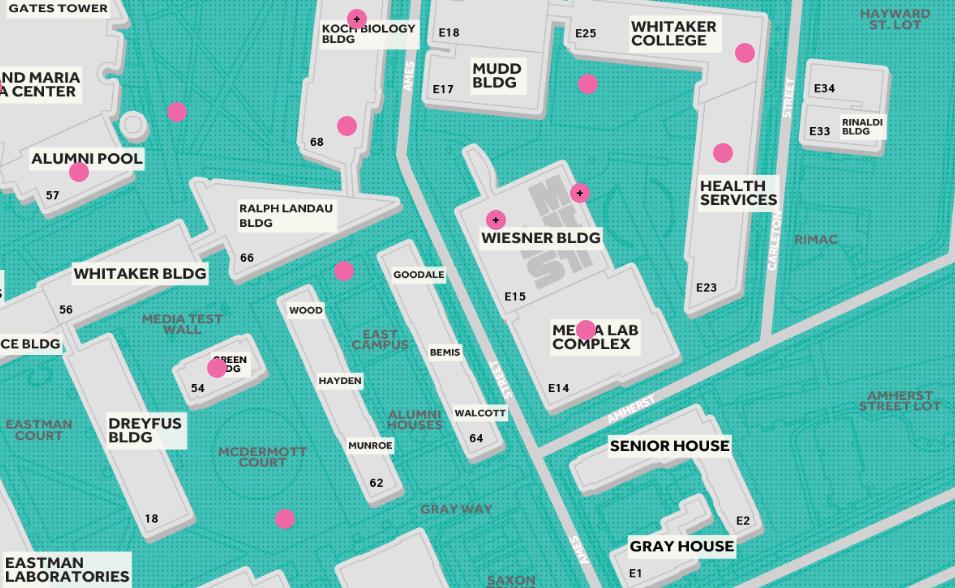 MIT List Public Art Map