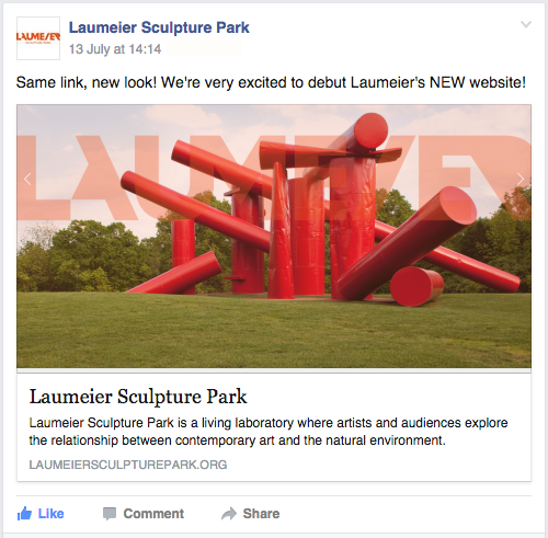 laumeier FB announcement