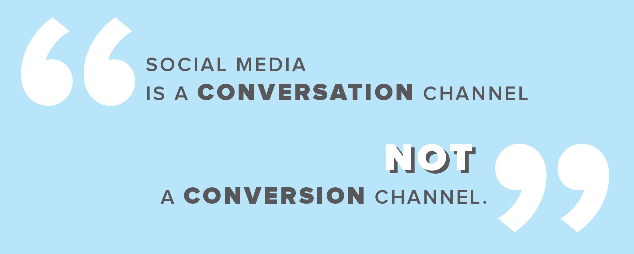 conversion conversation