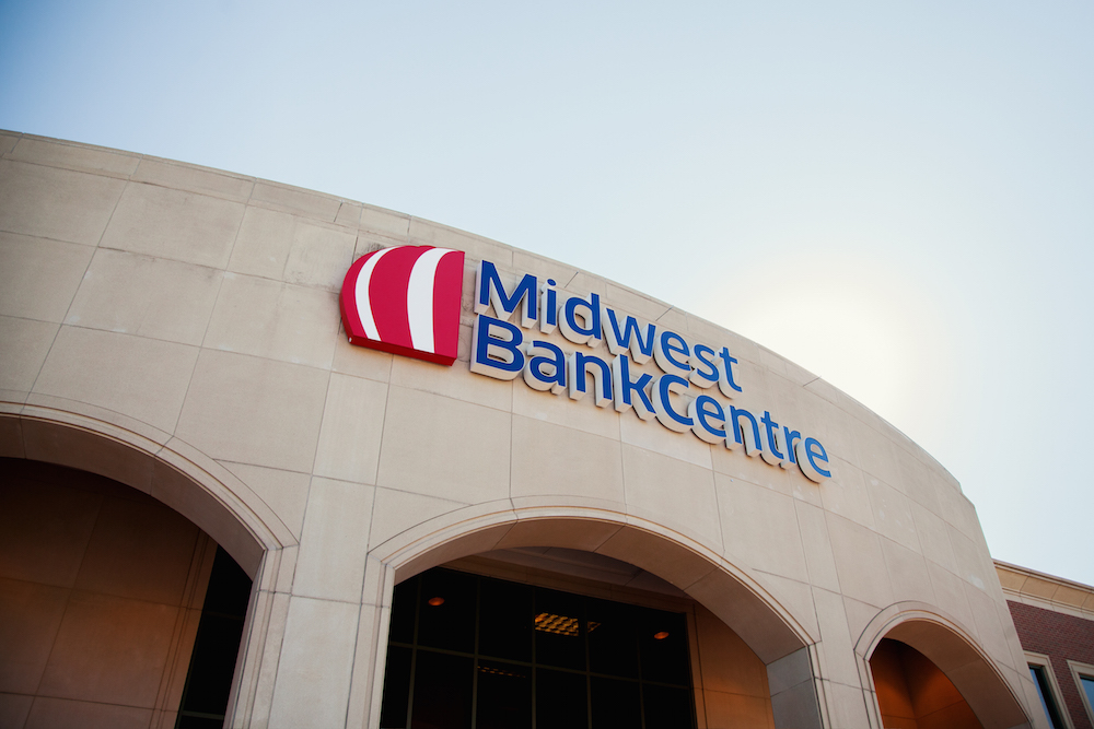 Midwest BankCentre Sign