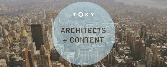 Content Strategy for Architects by TOKY