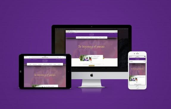 Salem Academy Website by TOKY