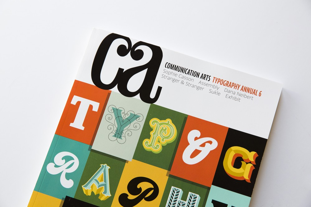 Communication Arts Typography 1