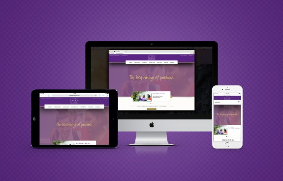 Website for Salem Academy by TOKY