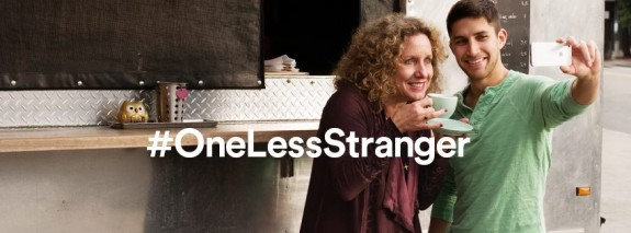 Airbnb One Less Stranger campaign
