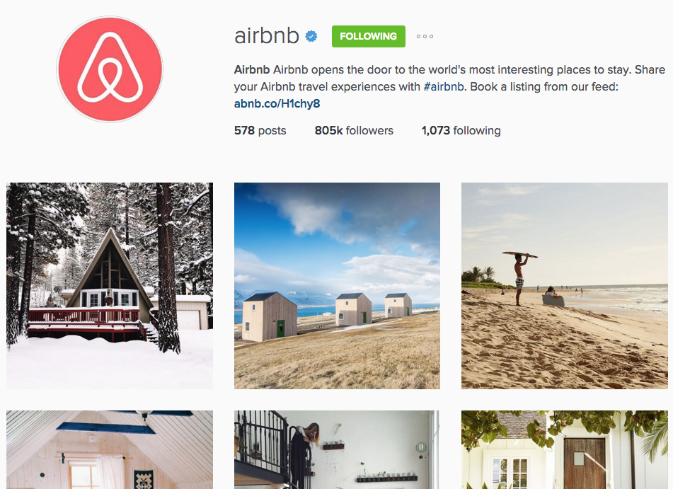 Airbnb IG