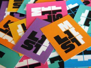 MIT List Visual Arts Center Business Card Pile