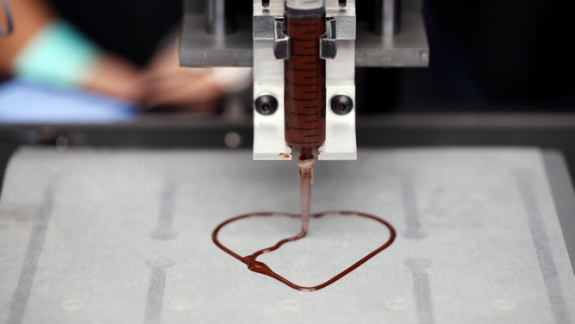 Sweetology 3D Chocolate Printing