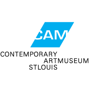 Contemporary Art Museum St. Louis Logo Lockup – Blue